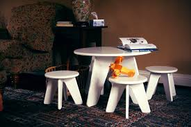 Modern Table Ls Aero Table And Stools Set