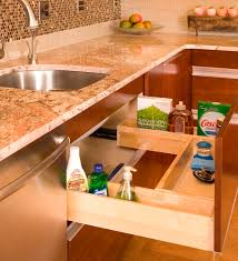 kitchen sink pull out drawer portfolio interior designer
