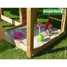 jungle gym wooden jungle cottage climbing frame playset with