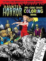 top 10 coloring books for horror freaks
