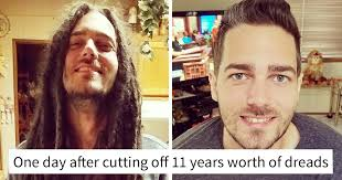 hairstyles after dreadlocks 10 incredible photos before and after a haircut prove a good barber