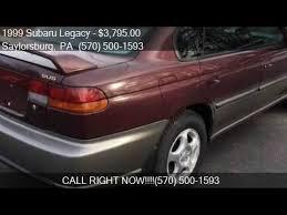 burgundy subaru legacy 1999 subaru legacy 30th anniversary awd 4dr sedan for sale i youtube