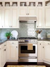 white kitchen cabinets with blue tiles kitchen backsplash ideas better homes gardens