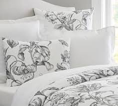 Black And White Toile Bedding Bedding Sale Pottery Barn