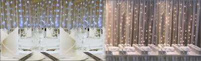 wedding backdrop fairy lights led fairy curtain light backdrop hire for weddings and events