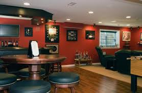 Basement Living Space Ideas Bar Bar Room In House Commendable House With Window Bars