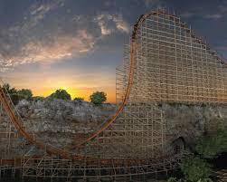 Six Flags San Antonio Steel Up For Iron Rattler San Antonio Express News