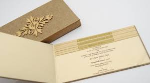 Indian Wedding Card Box Indian Wedding Invitation Cards Without Religious Symbols