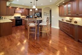 wooden kitchen flooring ideas cabinets lighter wood floors light countertops white