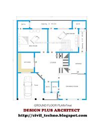Pakistan House Designs Floor Plans Pakistani Architectural House Plans House Interior