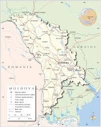 where is moldova on the map political map of moldova nations project