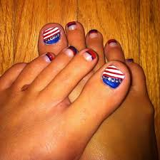 4th of july nail art designs ideas for beginners
