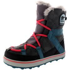 sorel womens boots uk womens sorel glacy explorer shortie waterproof winer warm