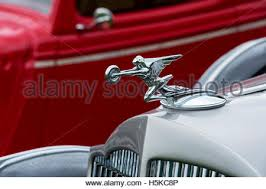goddess of speed ornament on a 1930s packard s8 car classic