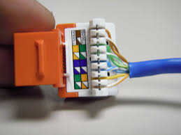 how to install an ethernet jack for a home network cat5 wiring