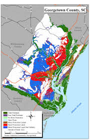 Map Of South Carolina Counties Sea Level Rise Planning Maps Likelihood Of Shore Protection In