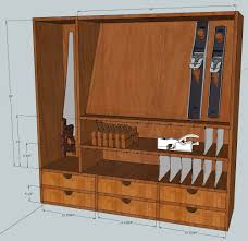 Wood Tool Storage Cabinets Tool Cabinet Design Tweaks Mcglynn On Making