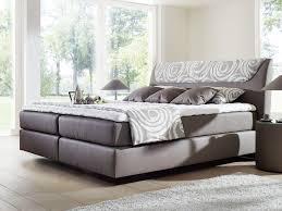 Schlafzimmer Set Mit Boxspringbett Boxspringbett Pronight Silber In Grau Stoff Und Betten