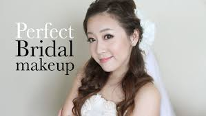 perfect bridal makeup youtube