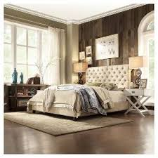 King Tufted Headboards Inspire Q Townsend Button Tufted Headboard Queen Target