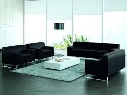 canapé cuir noir 3 places canape cuir noir 2 places canapac daccueil 2 places design canape