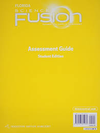 houghton mifflin harcourt science fusion florida assessment books
