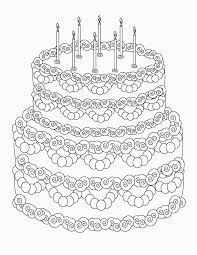 birthday coloring pages u2013 birthday printable