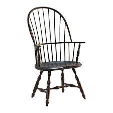 Black Windsor Chairs Patti Bros Lighting And Furniture Henzey Sackback Windsor Arm Chair