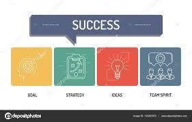 action plan icon set u2014 stock vector garagestock 133253372
