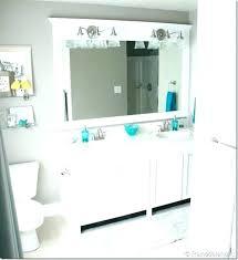 Frame Bathroom Mirror Kit Mirror Framing Kit Lowes Bathroom Mirrors Cool Design Decorative