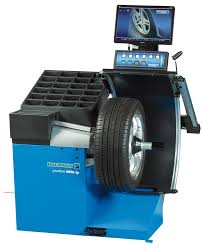 geodyna 6800 2p car wheel balancer with monitor hofmann