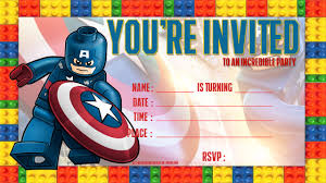 Lego Invitation Cards 20 Lego Party Invitations Template How To Choose The Best