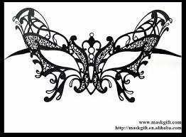 wholesale venetian venice solid black butterfly metal laser