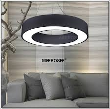 led suspended lighting fixtures ihausexpress black led ring pendant light fixture md2552