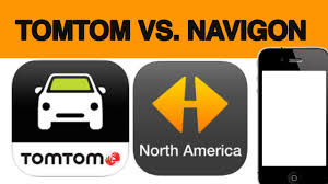 tomtom android tomtom vs navigon gps app for iphone android samsung review