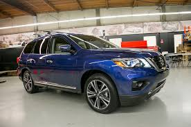 nissan pathfinder with rims 2017 nissan pathfinder to start at 30 890 motor trend