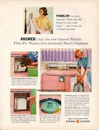 Etsy Laundry Room Decor by Vintage 1959 General Electric Washer Dryer Magazine Ad Ge Kitsch