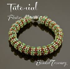 bead bangle bracelet images Flower power beaded bangle pattern superduo bead pattern jpg