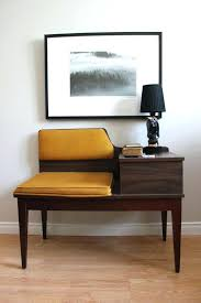 mid century entry table contemporary entry table amazing retro telephone table vintage