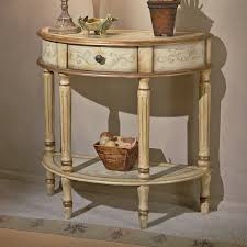 Demilune Console Table Butler Demilune Console Table Chateau Gray Hayneedle