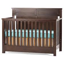 child craft abbott 4 in 1 convertible crib walnut target
