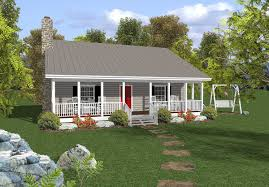 Country Cottage House Plans With Porches Rocking Chair Retreat 20037ga Architectural Designs House Plans