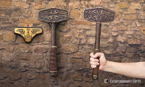 wield the power of a norse god with historical replica of thor s hammer