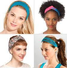hold back hair in yoga with a new headband craft