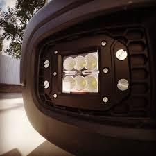 light yellow jeep flush mount cree led fog lights youtube