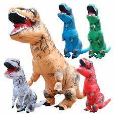 Rex Halloween Costumes Cheap Inflatable Dinosaur Costume Aliexpress