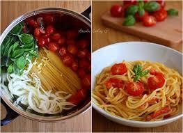 tomates cuisin s one pot pasta tomate cerise basilic ail oignon amandine cooking