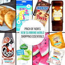 new slimming world shopping essentials 14 7 17 pinch of nom
