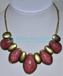 stone necklace designs images Make emerald latest ruby stone necklace designs buy make stone jpg