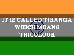 The Indian Flag Tiranga By George Shery Ponodath